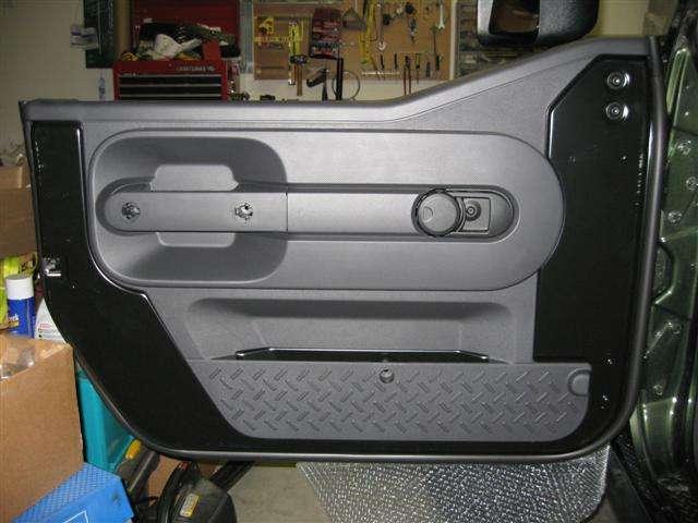 Half Door Retrofit From Oem Parts Jk Forum Com The